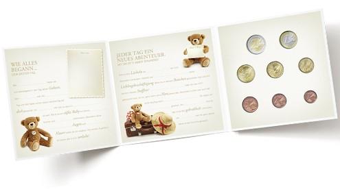 Baby-Euro-Münzensatz