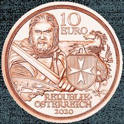 10 Euro Kupfermünze Standhaftigkeit