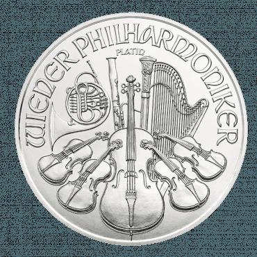 1 Unze Wiener Philharmoniker Revers