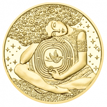 50 Euro Goldmünze Viktor Frankl Revers