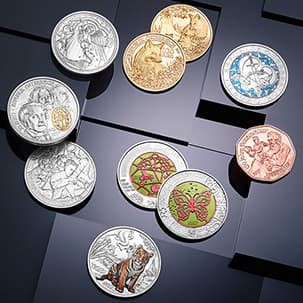 Das Serien Abo der Münze Österreich