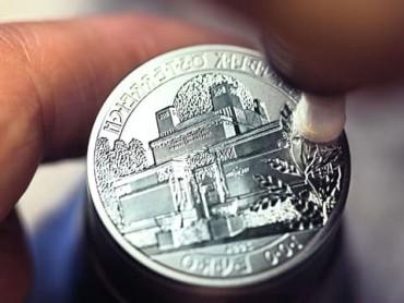 Münzen polieren