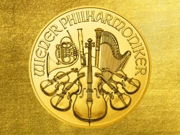 Wiener Philharmoniker Münze