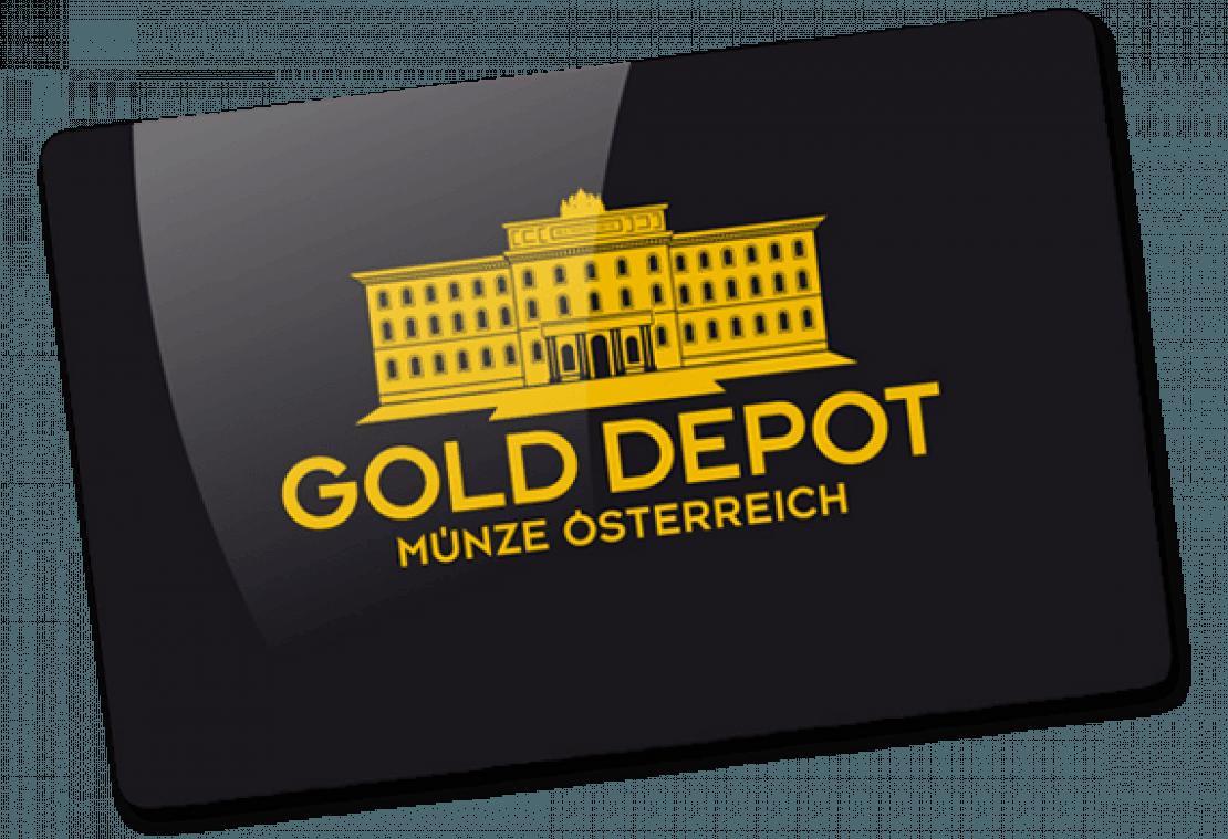 Kundenkarte GoldDepot