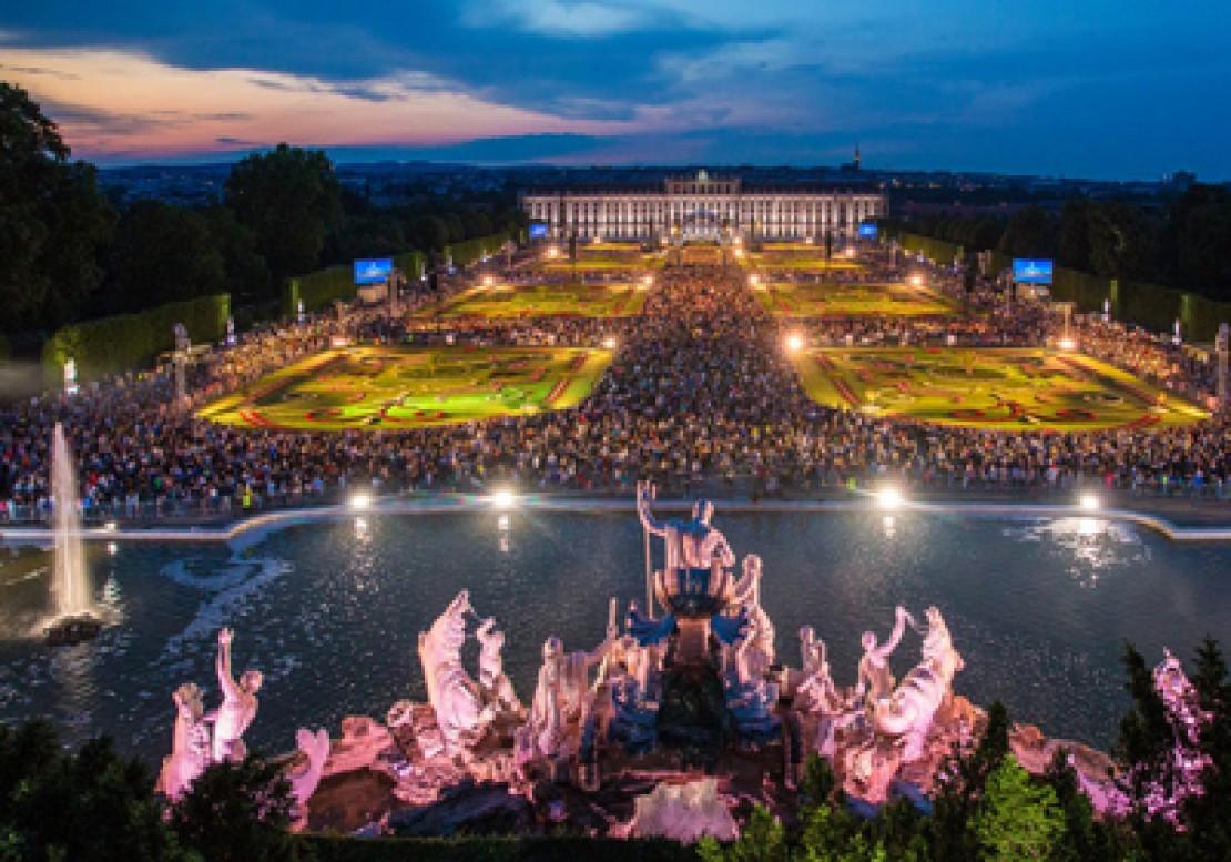 Sommernachtskonzert in Schönbrunn, Foto: © Julius Silver