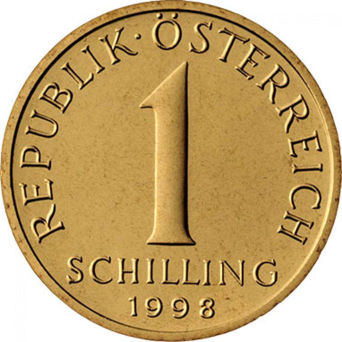1-Schilling Münze avers