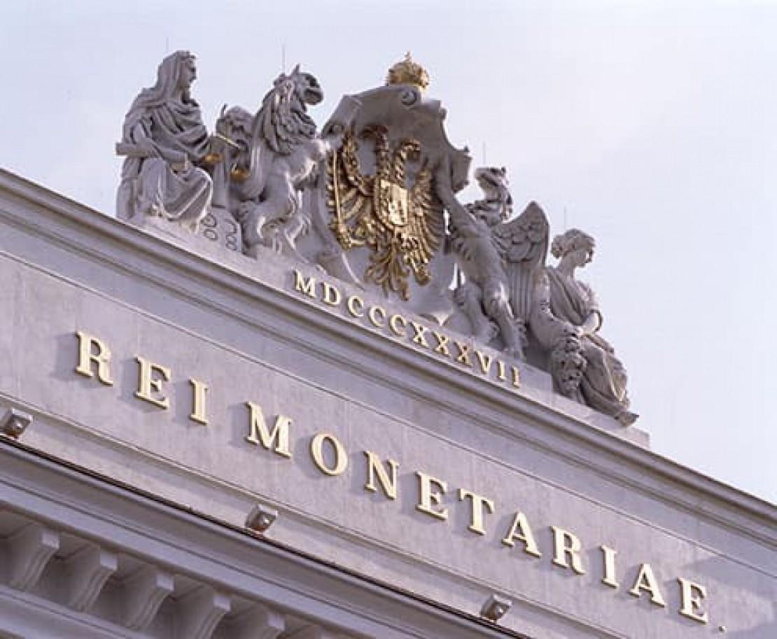 Münze AG Detailansicht Fassadenfront