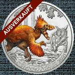 Deinonoychus 2021 3-Euro-Münze ausverkauft