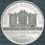 Wiener Philharmoniker Platin 1/25 Unze
