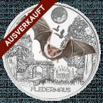 3-Euro-Tier-Taler, Die Fledermaus