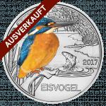 Der Eisvogel, 3-Euro Tier-Taler