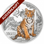 3-Euro-Tier-Taler, Der Tiger