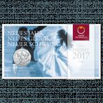 5-Euro-Silbermünze Donauwalzer im Blister