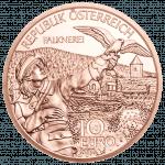 10-Euro-Kupfermünze Kärnten