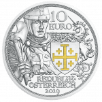 10 Euro Silbermünze Abenteuer Proof Avers