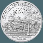 20-Euro-Silbermünze Belle Époque Avers