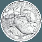 20-Euro-Silbermünze Schneller als der Schall