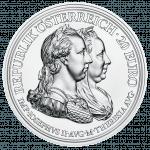 Maria Theresia Silbermünze Weisheit und Reformen