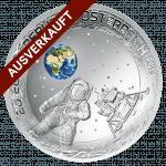 50 Jahre Mondlandung 20-Euro-Silbermünze ausverkauft