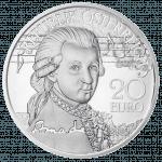 20 Euro Silbermünze Mozart Genie