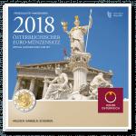 Euro Münzensatz 2018 Handgehoben