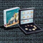 Euro Münzensatz 2019 Polierte Platte
