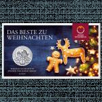 1 Unze Silber Wiener Philharmoniker Weihnachtsedition im Blister