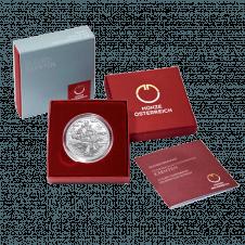 10-Euro-Silbermünze Kärnten im Etui