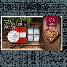 10 Euro Österreich im Blister