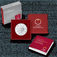 10 Euro Österreich im Etui