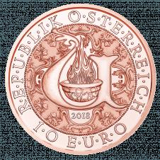 10 Euro Uriel, Kupfer, AV