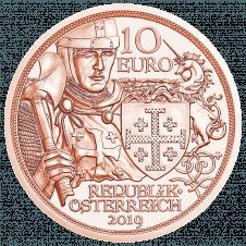 10 Euro Kupfermünze Abenteuer Avers