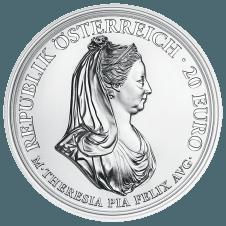 Maria Theresia Silbermünze Milde