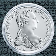 Maria Theresien Taler in der Dose