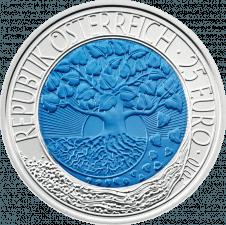 Silber-Niob-Münze Erneuerbare Energie