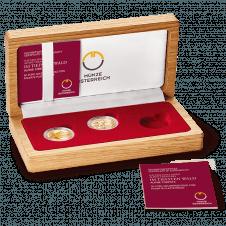 Sammelkassette Goldmünzenserie Naturschatz Alpen