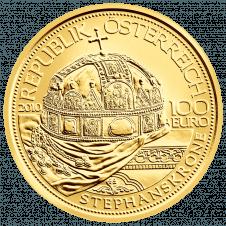 Goldmünze Stephanskrone AV1