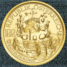 Goldmünze Wenzelskrone