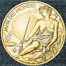 Kalendermedaille 2020 in Gold