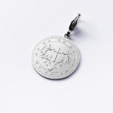 Silber-Charm Kreuz