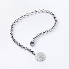 Charm-Armkette in Silber mit Sonne