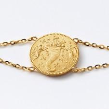 Gold-Armkette Glück