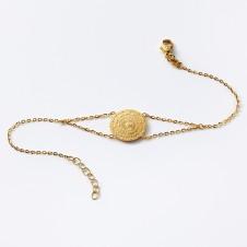 Gold-Armkette Liebe