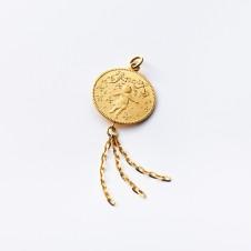 Gold-Anhänger Geburt