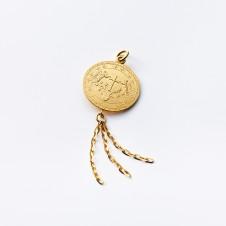 Gold-Anhänger Kreuz