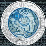 Silber Niob Münze Künstliche Intelligenz