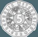 5-Euromünze Avers