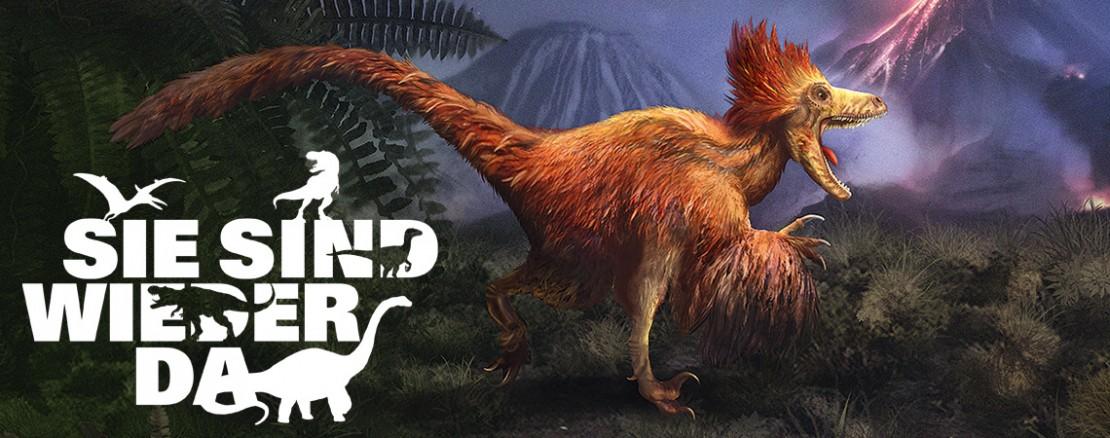 Headerbild Deinonychus der 3-Euro-Münzen-Serie Supersaurier