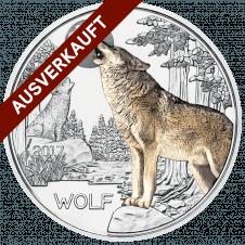 3 Euro Tier Taler Der Wolf