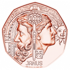 Neujahrsmünze 2021 Janus